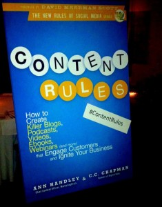 Content Rules, Marketing