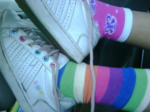 Mix Matched Socks are a Brand Statement