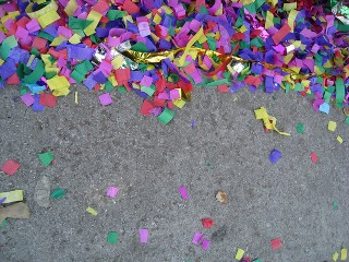 Confetti (Likes Are Like Confetti: Nice, but Not Worth Much)