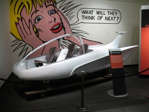 "Cartoon Excerpt, ""What Will They Think of Next."" + Space Car."