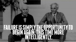 Failure: Opportunity to Start Over Smarter