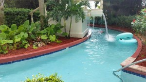 The Lazy River Pool